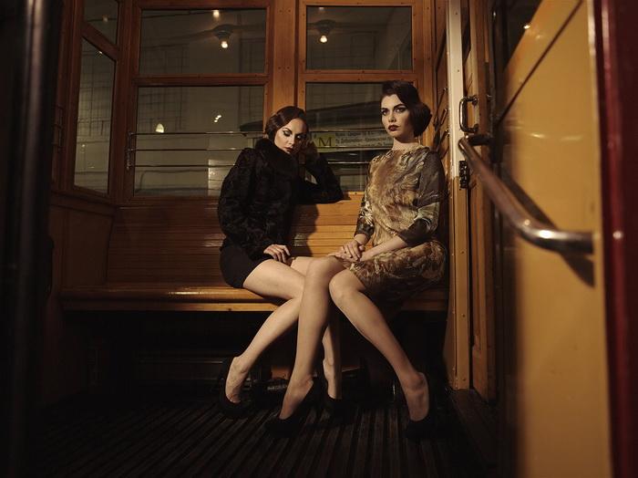 Фото в транспорте женщин